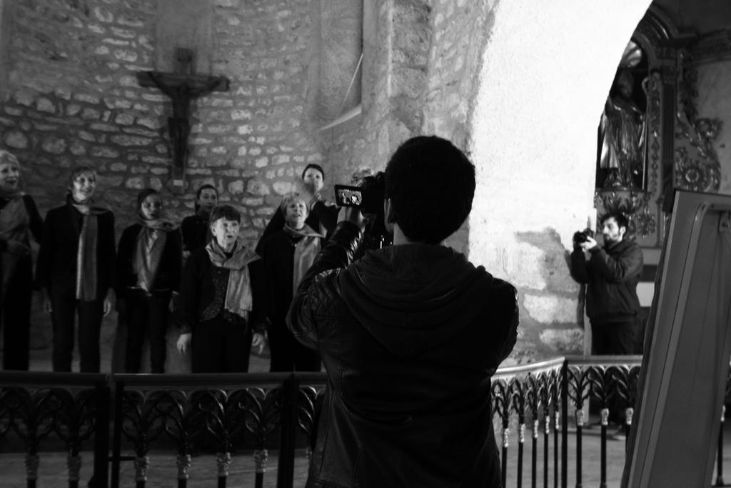 "Tournage ""Arièjo ô moun païs"" 9 Avril 2016 - Crédit A.A.C.M - Photos Anna Gardes"