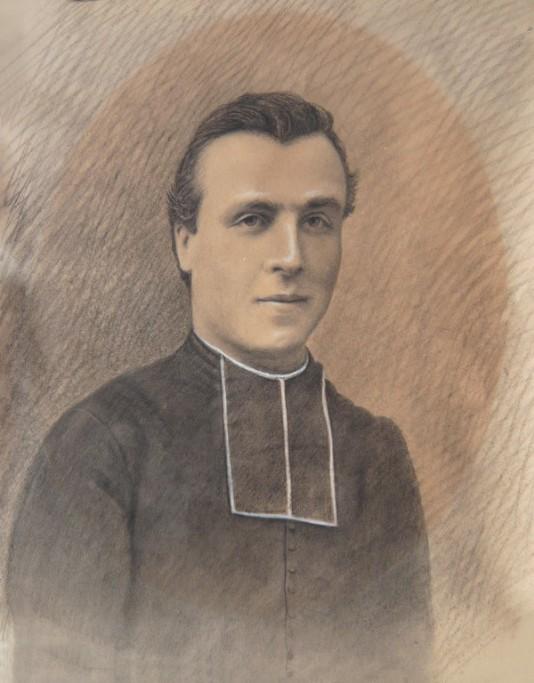 Sabas Maury, fusain année probable 1901 - Crédit photo Alain Canal