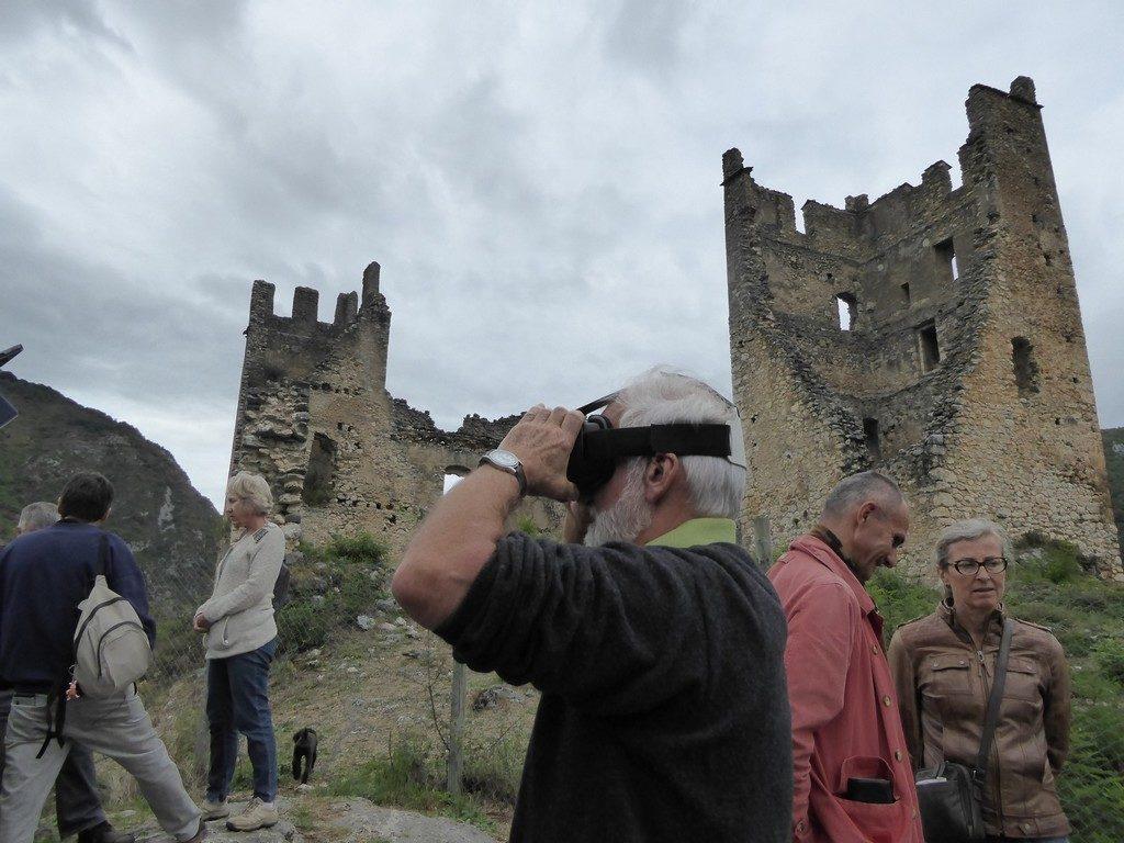AVANT PREMIERE - Visiter le château virtuellement grâce à la technologie des lunettes immersives - A.A.C.M. © JMF