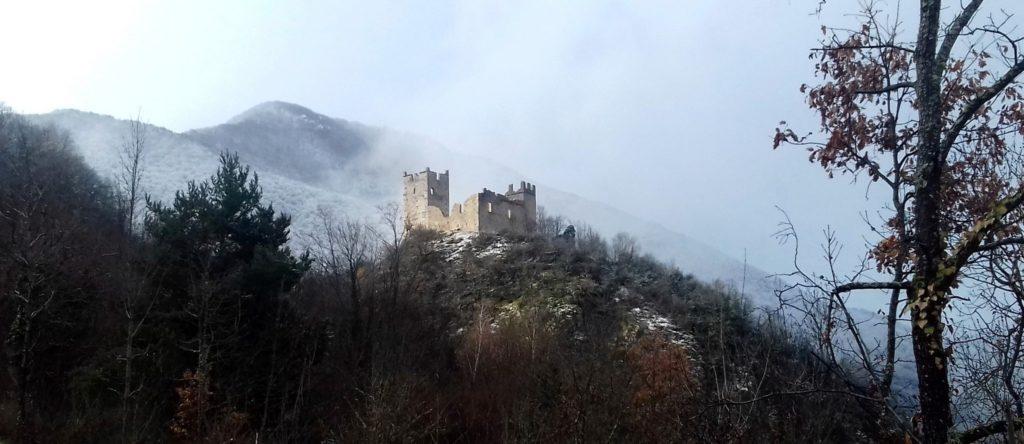 Château de Miglos, 18 mars 2018 - Crédit Photo AACM - Gérard Lafuente