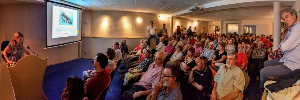 Un auditoire nombreux et attentif - Crédit photo Benoît Freyche