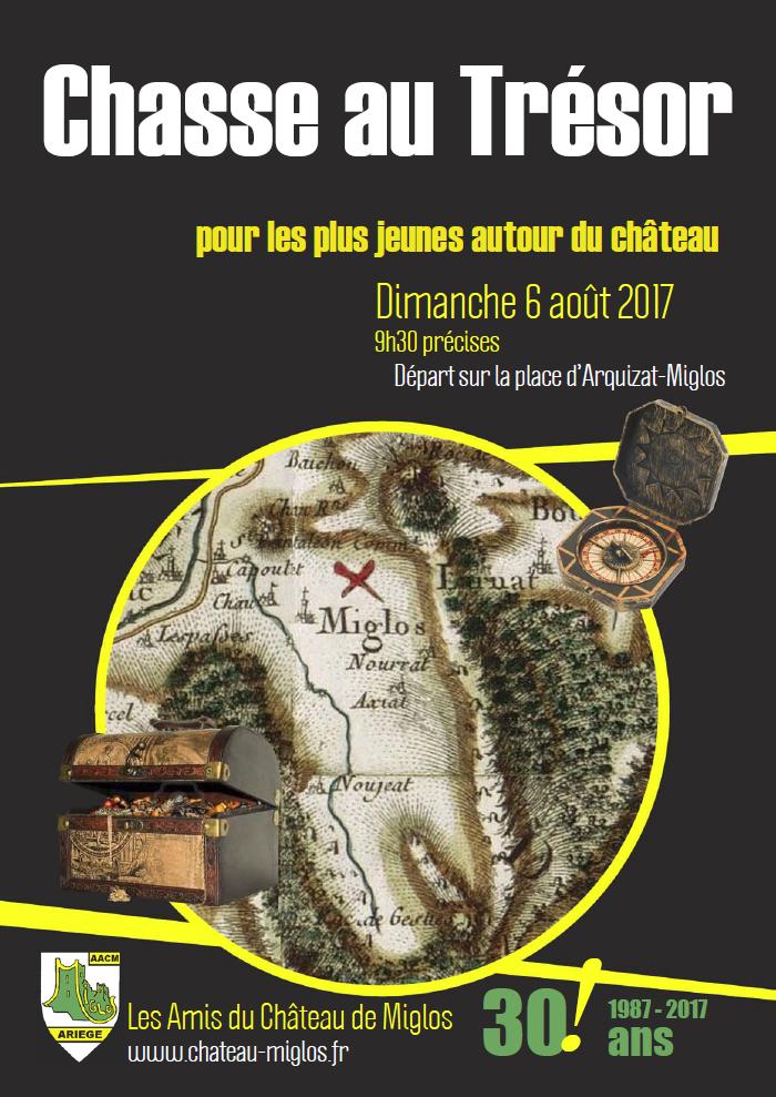 Chasse aux trésors - 6 août 2017 AACM