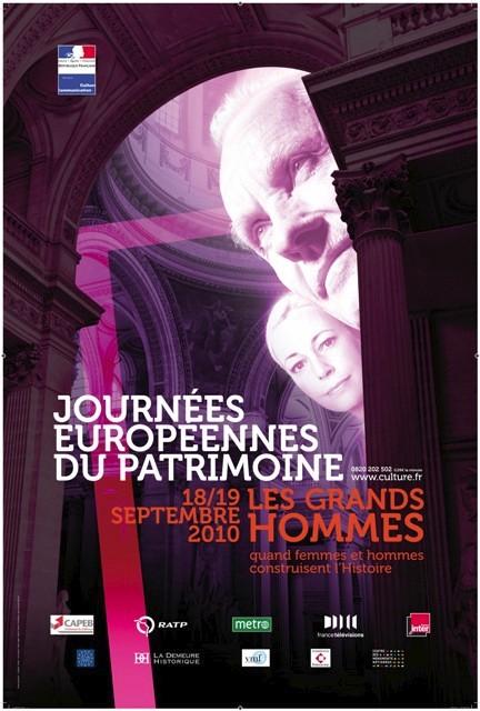 Affiche JEP Patrimoine 2010