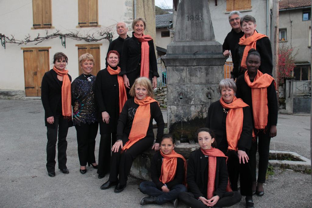 Ensemble Vocal Unisson, chef de choeur Jeanine Prosper - Crédit AACM photo Anna Gardes