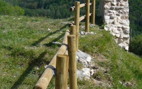 Travaux de mise en sécurité réalisés par le Département de l'Ariège - AACM Crédit photo © Gérard Lafuente