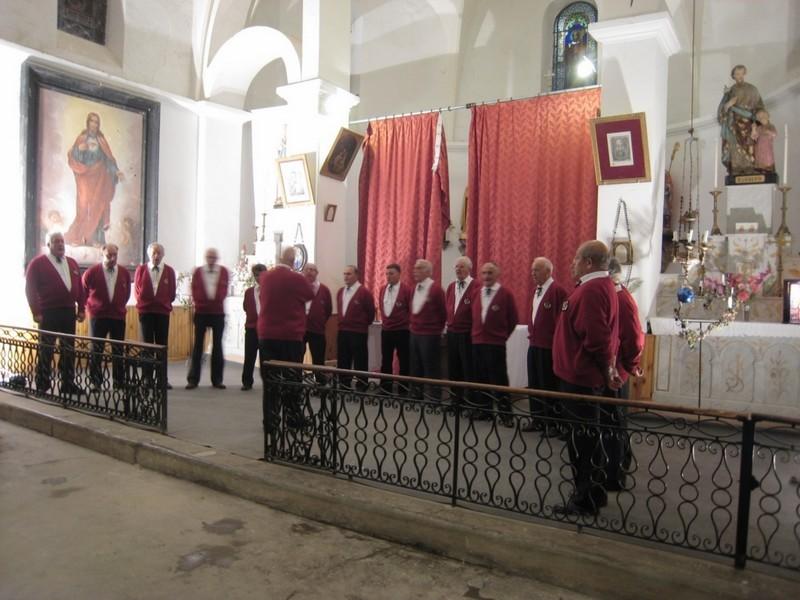 groupe « Que canto », chœur d'hommes de Saint Girons.