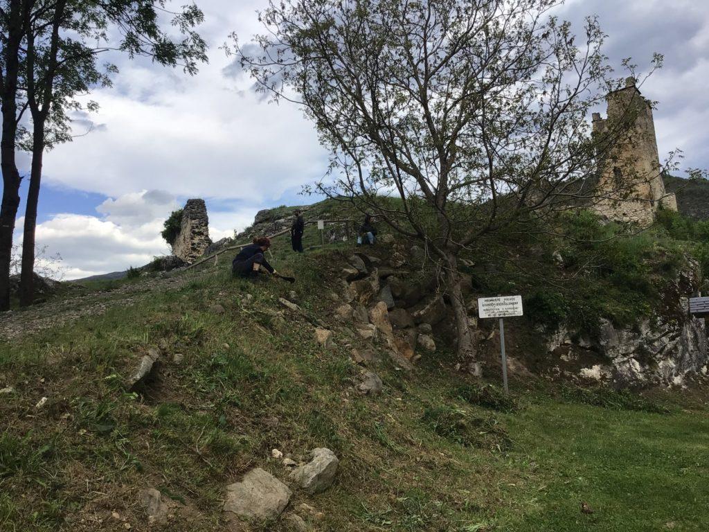 Nettoyage du château 9 mai 2021