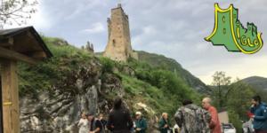 nettoyage du château de Miglos 9 mai 2021